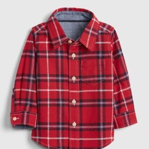 Gap Red Flannel Shirt